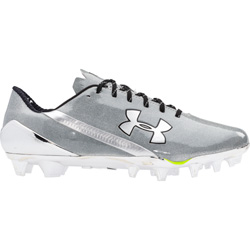 00fc0a2efce9 UA Nitro Mid D Football Cleats | FirsttotheFinish.com