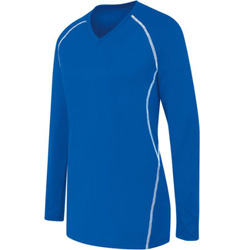 High Five Wmn's Long Sleeve Solid Jersey